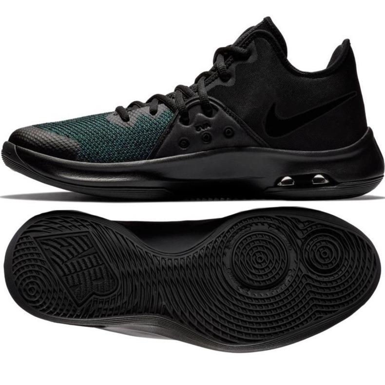 Buty koszykarskie Nike Air Versitile Iii M AO4430-002 czarne wielokolorowe