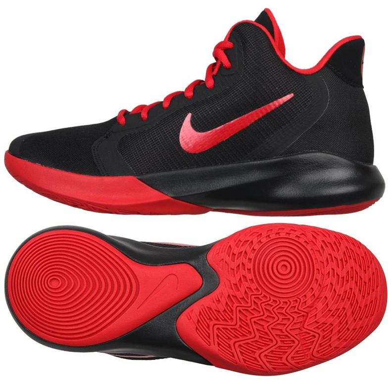 Buty koszykarskie Nike Precision Iii M AQ7495-001 czarne czarne