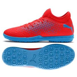 Buty piłkarskie Puma Future 19.4 Tt M 105548 01 czerwone czerwony