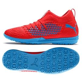 Buty piłkarskie Puma Future 19.3 Netfit Tt M 105542 01 czerwony czerwone