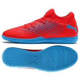 Buty halowe Puma Future 19.4 It M 105549 01 czerwony czerwone