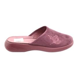 Befado obuwie damskie pu 019D096 fioletowe