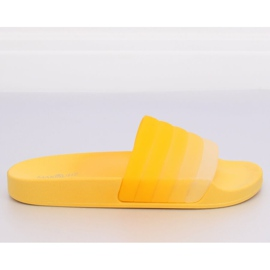 Klapki damskie żółte K-9183 Yellow