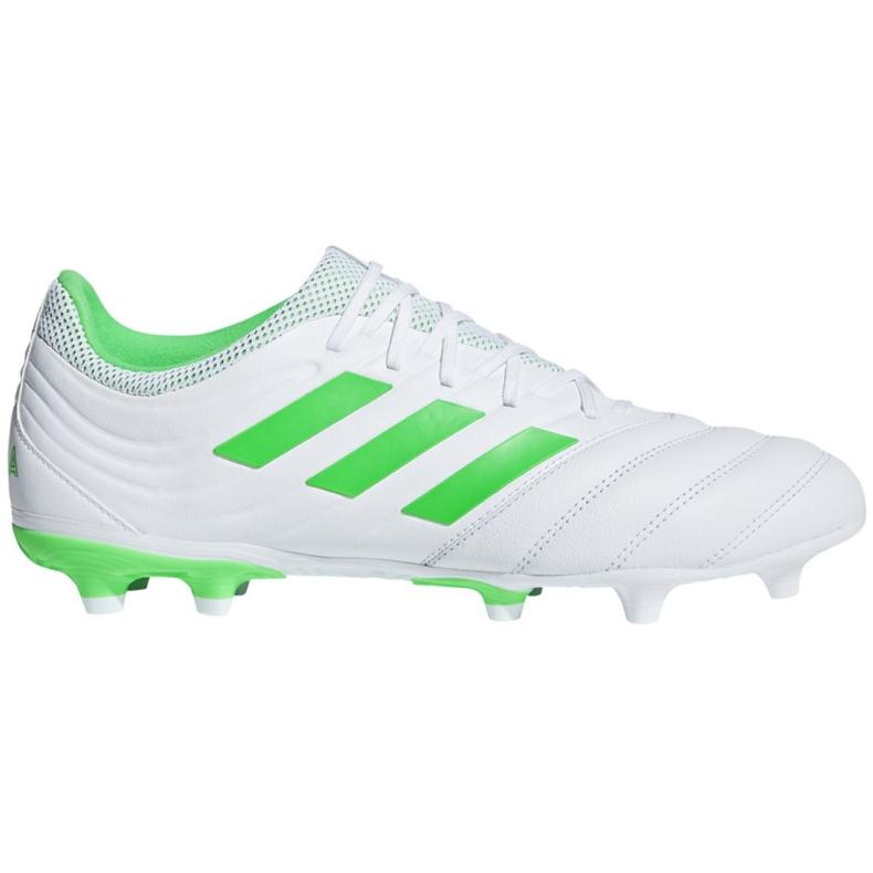 Buty piłkarskie adidas Copa 19.3 Fg M BB9188 niebieskie białe