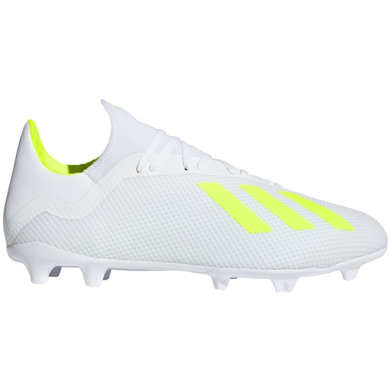Buty piłkarskie adidas X 18.3 Fg M BB9368 białe białe