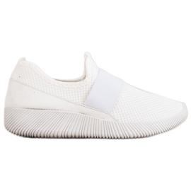 Wsuwane Buty Sportowe białe