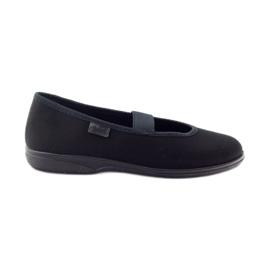 Czarne Befado obuwie dziecięce 274X004