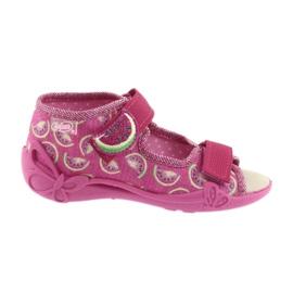 Befado sandałki obuwie dziecięce 342P004 arbuzy