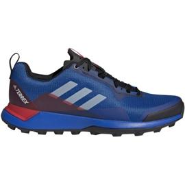 Buty adidas Terrex Cmtk M BC0433 niebieskie