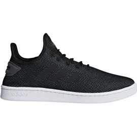 Czarne Buty adidas Court Adapt M F36418