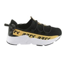 Bartek buty sportowe czarne 55109 wkładka skóra