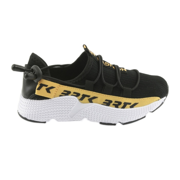 Bartek adidasy sportowe czarne 55109 wkładka skóra