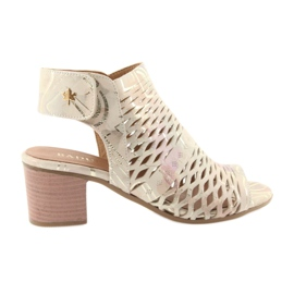 Sandały z cholewką Badura 4723