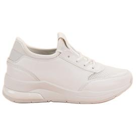 Ideal Shoes białe Damskie Buty Sportowe