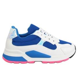 Buty sportowe biało-granatowe JRX306 BLUE/WHITE