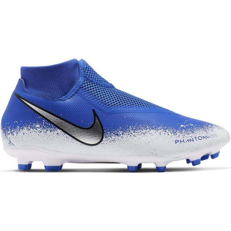 Buty piłkarskie Nike Phantom Vsn Academy Df FG/MG M AO3258-410 wielokolorowe niebieskie
