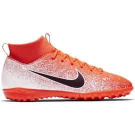 Buty piłkarskie Nike Mercurial Superfly X 6 Academy Tf Jr AH7344-801 pomarańczowe wielokolorowe