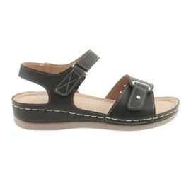 Sandały damskie comfort DK 25131 czarne