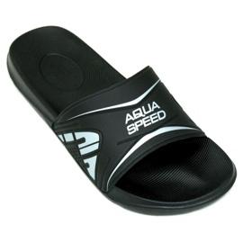 Czarne Klapki Aqua-Speed Dakota M kol.7