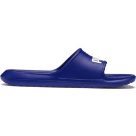 Niebieskie Klapki Puma Divecat v2 M 369400 03