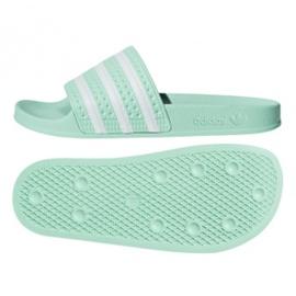 Klapki adidas Originals Adilette W CG6538 zielone