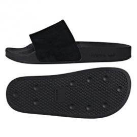 Czarne Klapki adidas Originals Adilette W DA9017