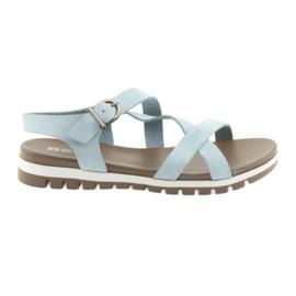 Sandały komfortowe Big Star niebieskie