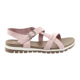 Różowe Sandały damskie Big Star 274971
