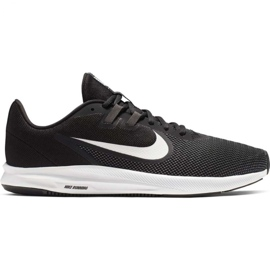 Czarne Buty biegowe Nike Downshifter 9 M AQ7481-002