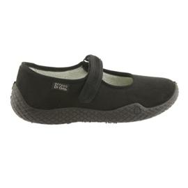 Befado obuwie damskie pu--young 197D002 czarne