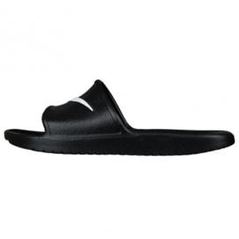 Czarne Klapki Nike Kawa Shower 832528-001