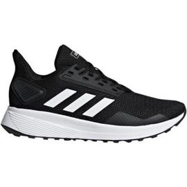 Buty adidas Duramo 9 Jr BB7061 białe czarne