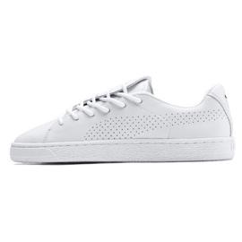 Białe Buty Puma Basket Crush Perf Wn's W 369689 01