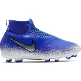 Buty piłkarskie Nike Phantom Vsn Academy Df FG/MG Jr AO3287-410