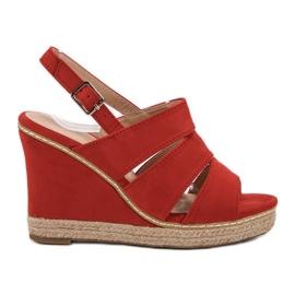 Primavera Czerwone Sandały