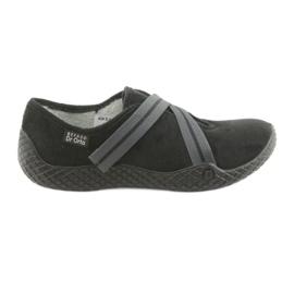 Czarne Befado obuwie damskie pu--young 434D014
