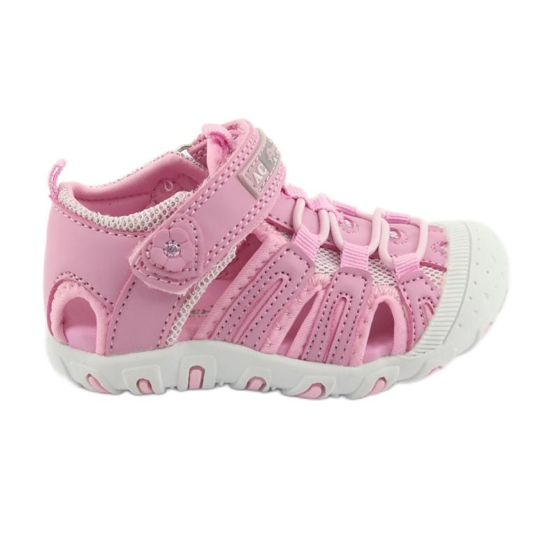 Sandałki sportowe American Club różowe