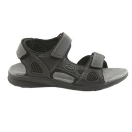 Sandały sportowe American Club HL08 cz czarne