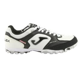 Buty piłkarskie Joma Top Flex Tf M TOPW.702 Tf czarno-biały białe