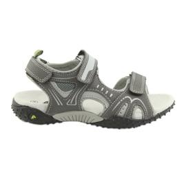 Sandałki chłopięce sportowe American Club RL18 grey szare