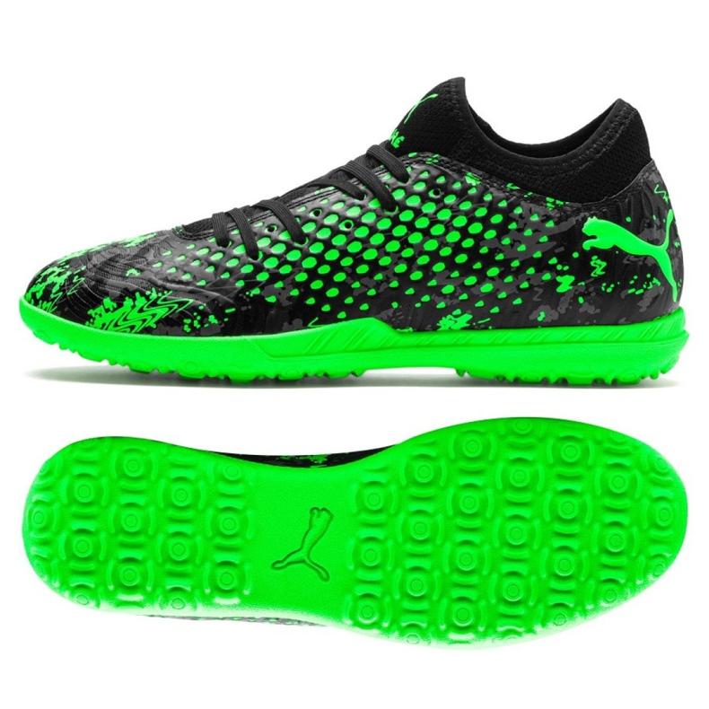 Buty piłkarskie Puma Future 19.4 Tt M 105548 03 wielokolorowe zielone