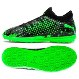 Buty piłkarskie Puma Future 19.4 Tt Jr 105558 03 czarny, zielony zielone
