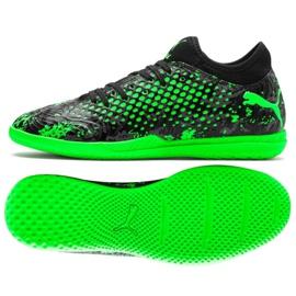 Buty halowe Puma Future 19.4 It M 105549 03 czarny, zielony zielone