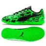 Buty halowe Puma One 19.4 It Jr 105504 04 zielone czarny, zielony