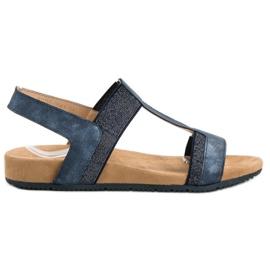 Evento Niebieskie Wsuwane Sandały