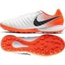 Buty piłkarskie Nike Lunar LegendX 7 Pro Tf M AH7249-118 biały, pomarańczowy białe