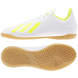 Buty halowe adidas X 18.4 In Jr BB9411