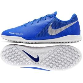 Buty piłkarskie Nike Phantom Vsn Academy Tf M AO3223-410 niebieskie wielokolorowe