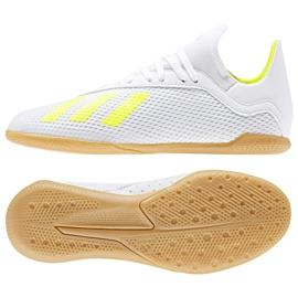 Buty halowe adidas X 18.3 In Jr BB9397