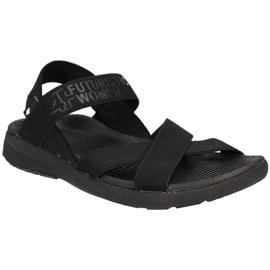 Czarne Sandały 4F W H4L19-SAD002 20S czarny